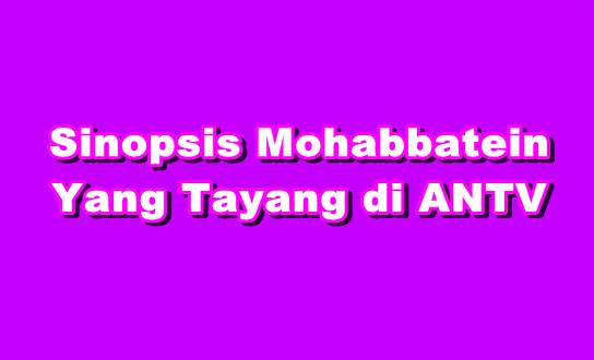 Sinopsis Mohabbatein