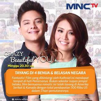 Sinopsis Crazy Beautiful You MNCTV