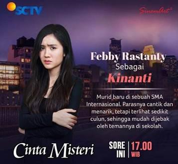 Daftar Nama Dan Biodata Lengkap Pemain Cinta Misteri SCTV (2018)