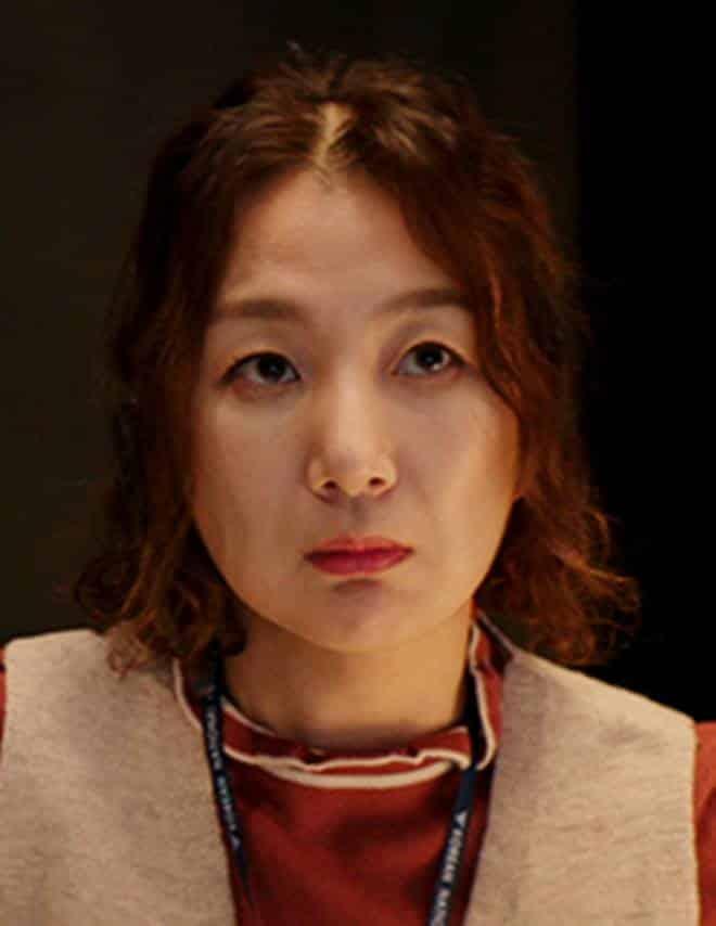 Kim Yun-Hee sebagai pemeran Jung Mi-Ja