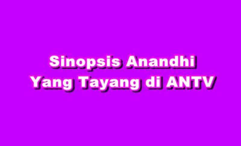 SINOPSIS Anandhi ANTV